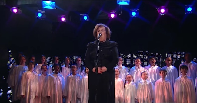 Susan Boyle's Rendition Of 'O Holy Night' Will Definitely Lift Your Christmas Spirit