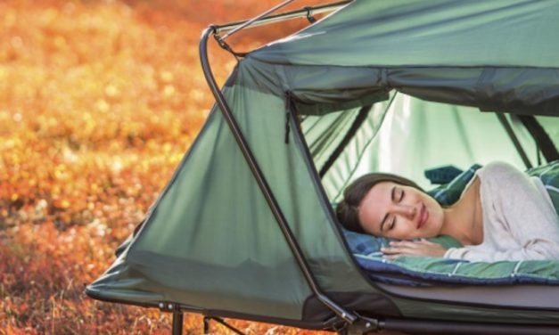 The Kamp Rite Double Tent Cot – Sleep Above Ground While Camping
