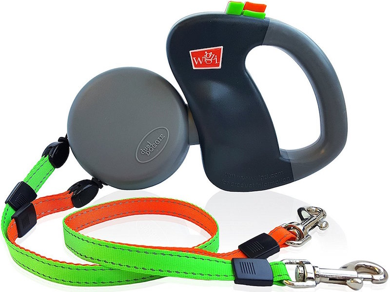 Wigzi Dual Doggie Leash Walk Two Dogs At The Same Time