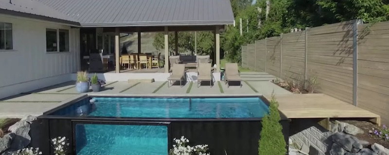With Modpools You Can Turn A Regular Shipping Container Into A Relocatable Swimming Pool