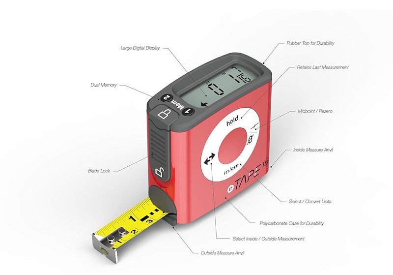 Electronic Tape Measure : Etape digital tape measure the original