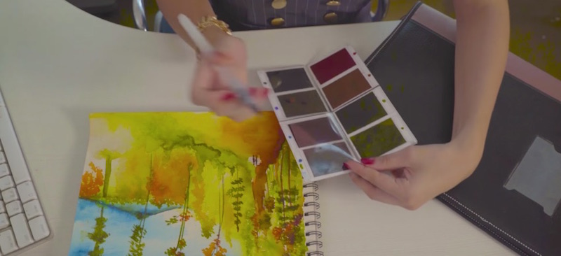 Viviva Color Sheets Easiest and Most Convenient Way to Paint on the Go