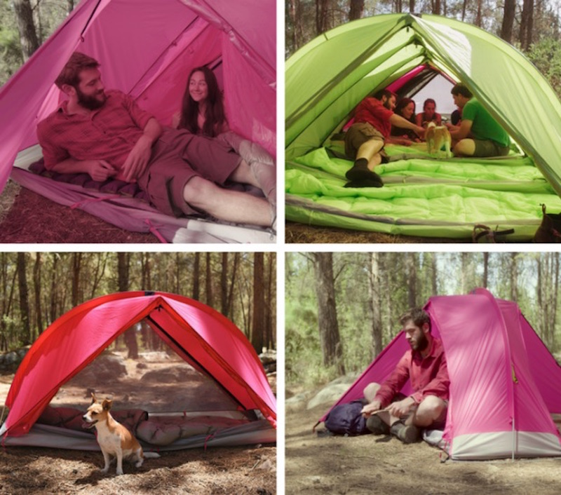Rhinowolf All In One Super Tent That Attaches To Make A