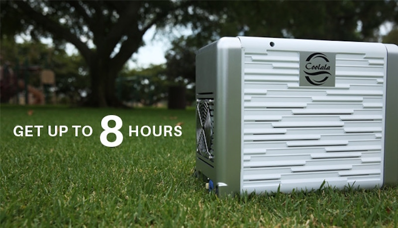 Coolala Solar Powered Portable Air Conditioner