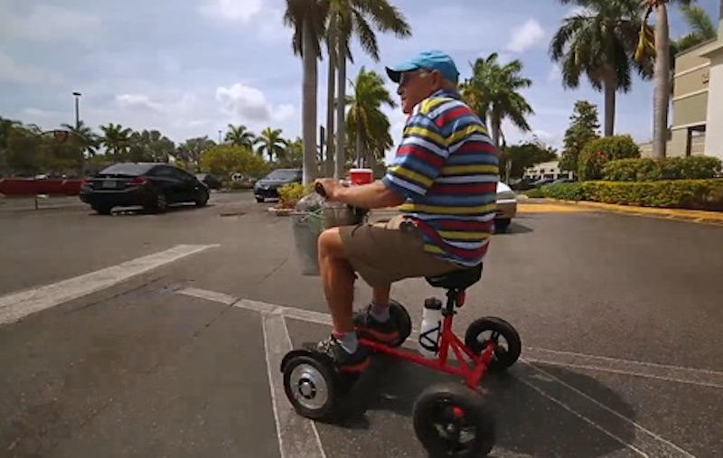 Hoverbike Turn Your Hoverboard Into A Bike