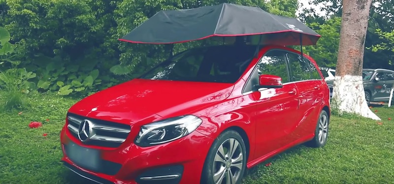Lanmodo Portable Car Umbrella Protect Your Car In Every Kind Of Weather