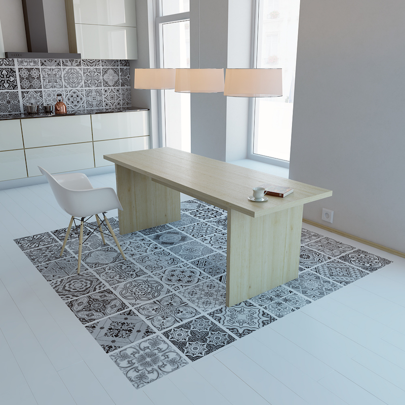 Alternative To Kitchen Wall Tiles: Moon Wall Tile Stickers: Decals That Stick On Your Wall Or