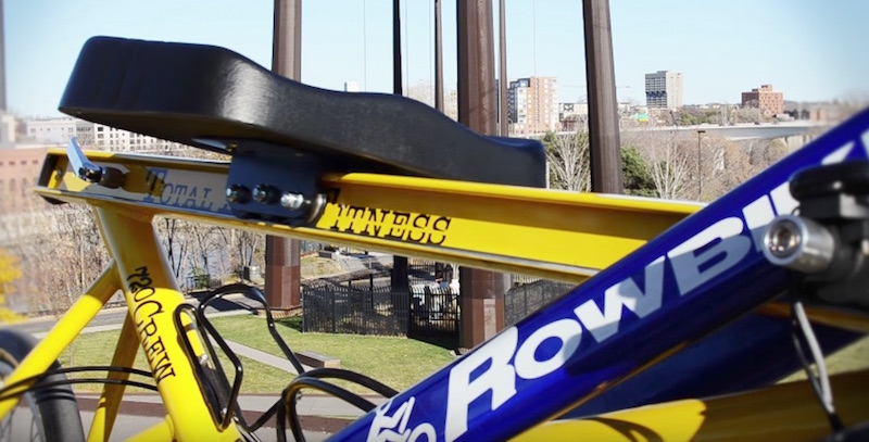Rowbike Combine The Fitness Of Rowing With On The Go Biking