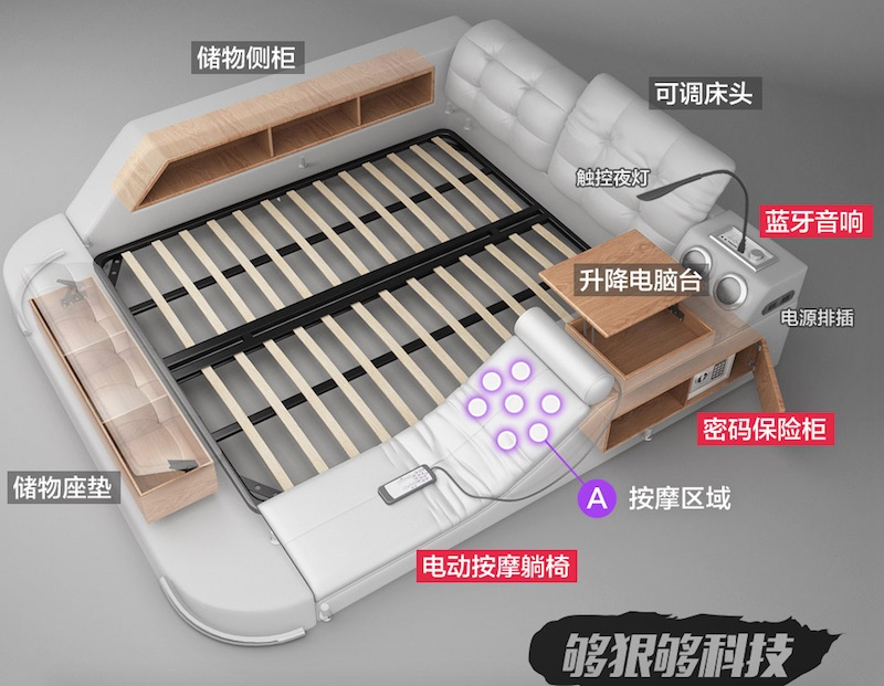 Tatami Massage Bed The Ultimate All In One Sleeping And