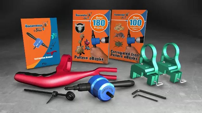 Versi Cutter Turn Any Drill Into Powerful Compact