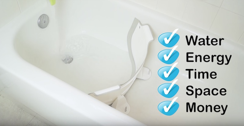 BabyDam Bathtub Divider: Turn Your Bathtub Into A