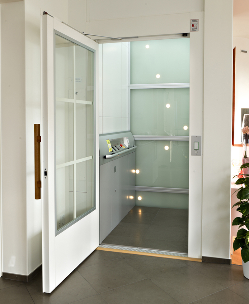 Terry total lift solutions install a custom elevator in for Custom home elevator