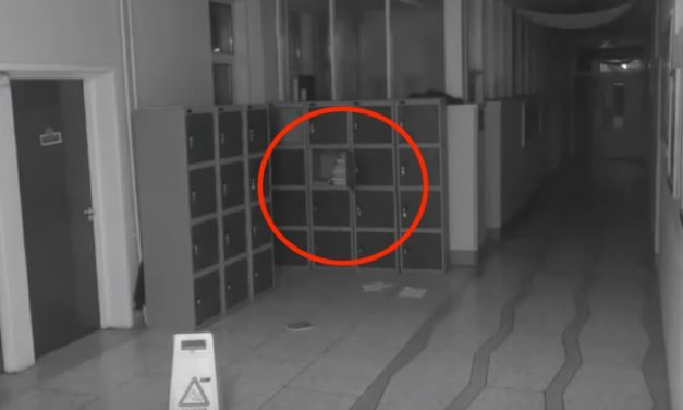 Eerie Video from Security Camera Captures 'Ghost' Terrorizing a School at 3 AM