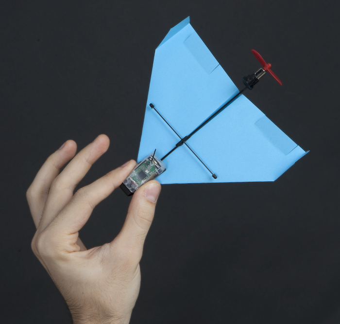 how to make a motorized paper airplane