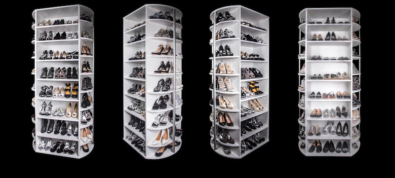 360 Shoe Spinner Organizer Store Up To 200 Pairs Of Shoes