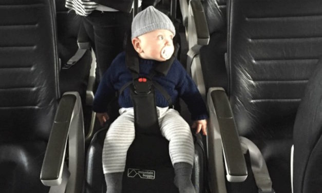 Bagrider: Turn Your Carry-On Luggage into a Travelling Seat for Toddlers