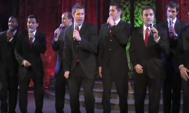 Men's A Cappella Group Tackles Christmas Classic, Crowd Goes Wild When They Dance