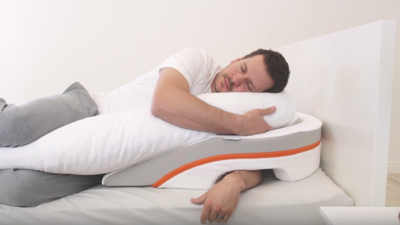Medcline acid reflux pillow the pillow that gives you for Body pillow for acid reflux
