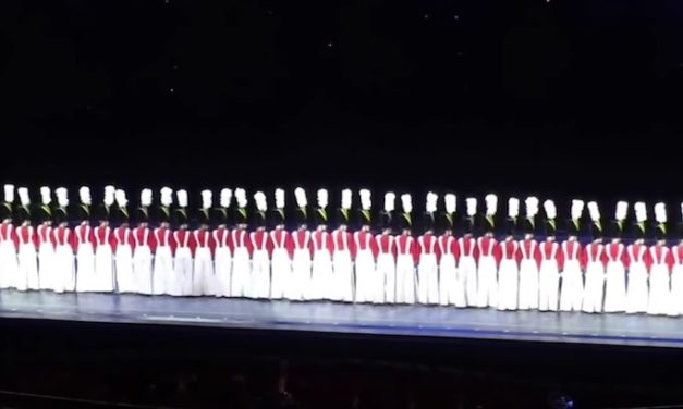 Toy Soldiers Start Performance on Stage, Crowd Is Amazed When They Move in Unison