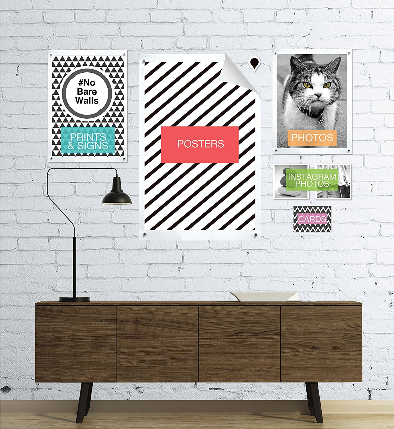 Goodhangups Hang Any Poster Without Damaging Your Walls
