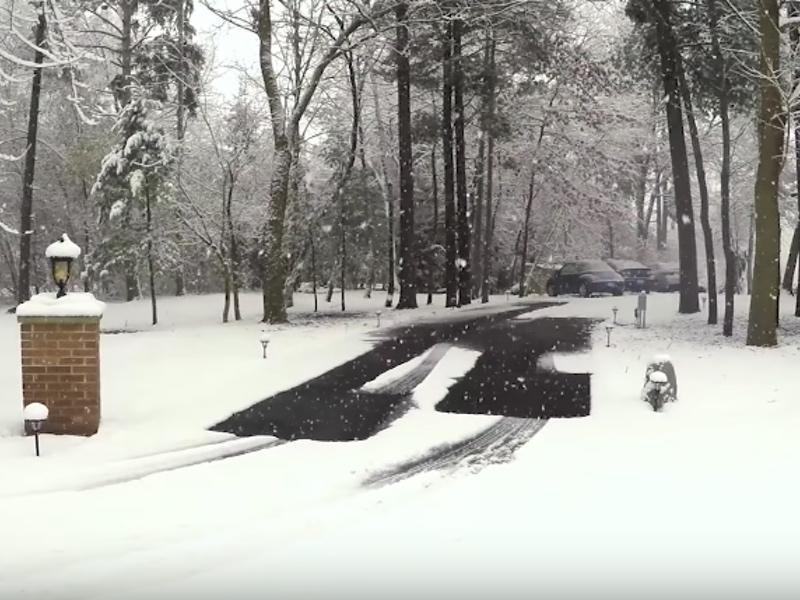 Warmlyyours Snow Melting Mats Never Shovel Again