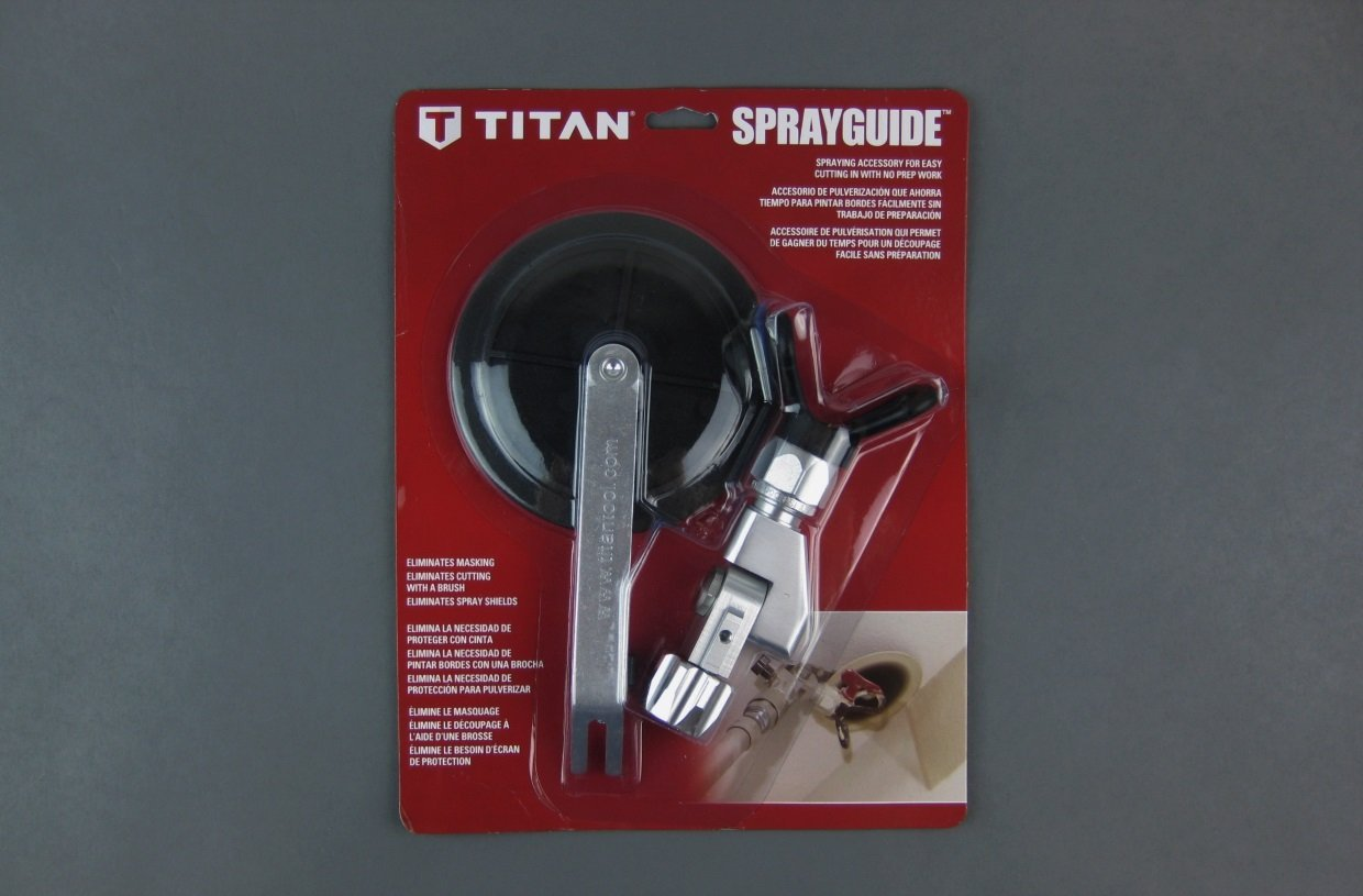 Titan Spray Guide Easily Paint Edges And Corners