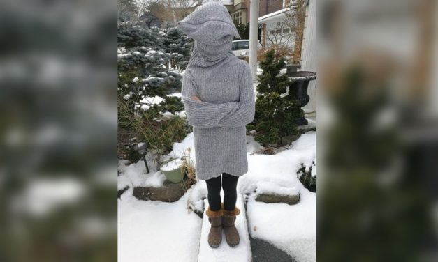 "This DIY Sweater is the Absolute Perfect Way to Say ""Leave Me Alone"""