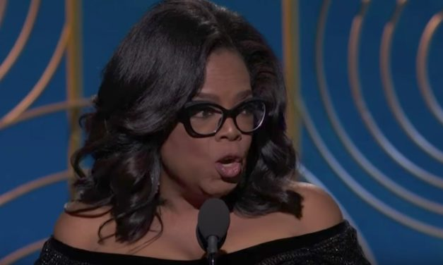 Oprah's Powerful Golden Globes Speech Brings Nation to Its Feet—Watch It Here
