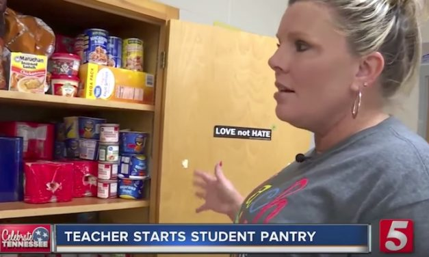 English Teacher Notices Students Starving in Secret, So She Creates Her Own Food Bank