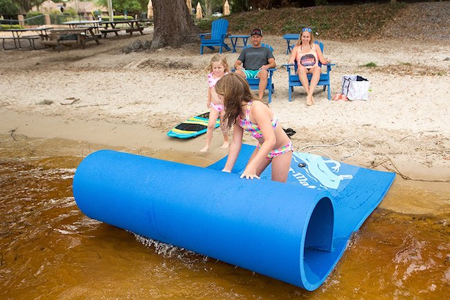 Watermat Walk On Water With This Floating Foam Mat