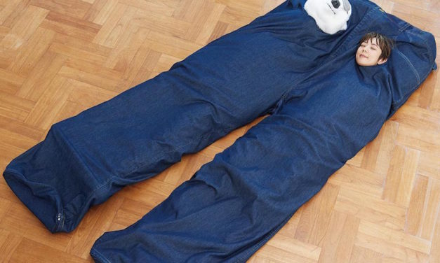 Felissimo Giant Pants 2-Person Sleeping Bag: Be Cozy with Your Loved One