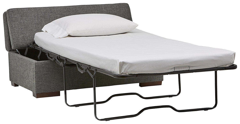 Rivet Fold Modern Ottoman Sofa Bed2