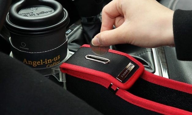 KMMotors Coin Pocket: Side Attachment For Your Car To Keep Coins