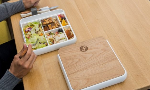 Fittbo: Ultimate Lunchbox Has a Unibody Food Tray Held Upright