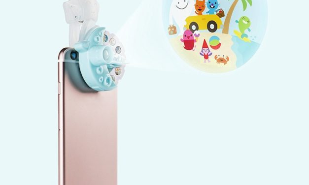 Moonlite Storybook Projector: Make Bedtime Fun with Your Smartphone