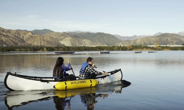 MYCANOE: Origami Folding Canoe for Easy Transport and Storage