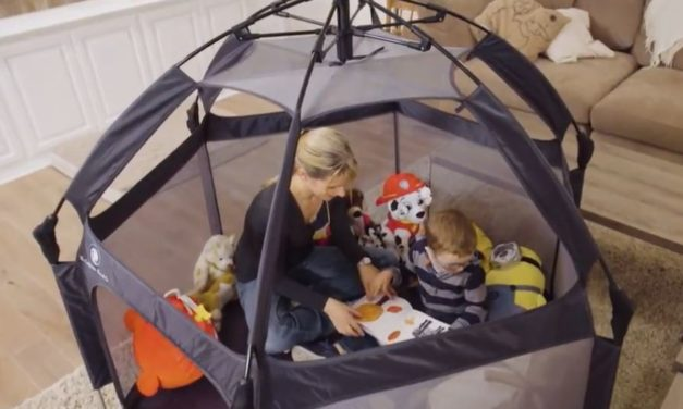 Pop 'N' Go: Portable Kids Playpen Sets Up in Seconds Anywhere