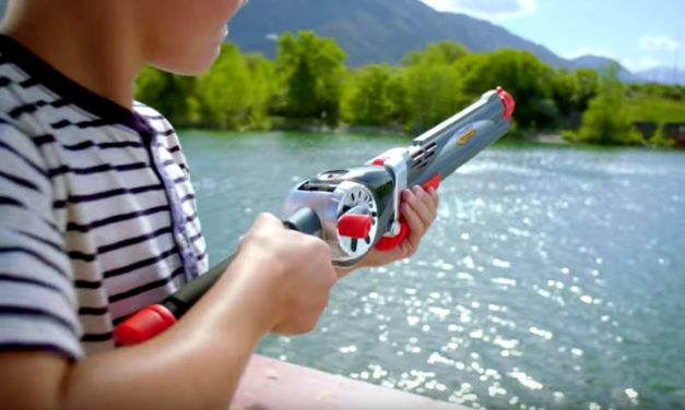 Rocket Fishing Rod: Kids Fishing Pole Shoots Bobber Instead of Casting