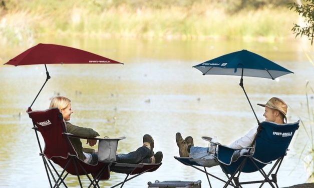 Sport-Brella Recliner Chair: Relax in the Shade with Total Comfort