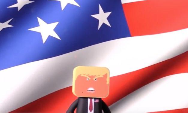 Donald Trump Bluetooth Speaker: Watch the President Dance!