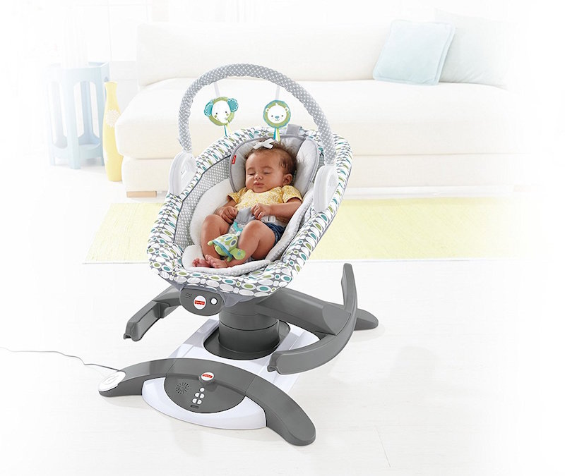 Fisher Price 4 In 1 Rock N Glide Soother Soothe Your