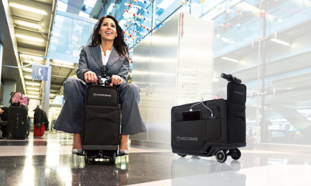 Modobag: The Suitcase You Can Ride On