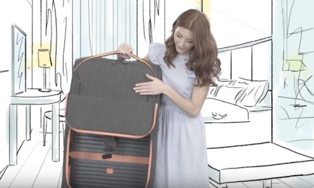 Rollux: An Extremely Versatile Two in One Suitcase for All Your Travels