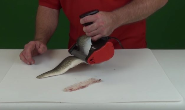 SKINZIT Electric Fish Skinner: Clean Your Fish in Half the Time