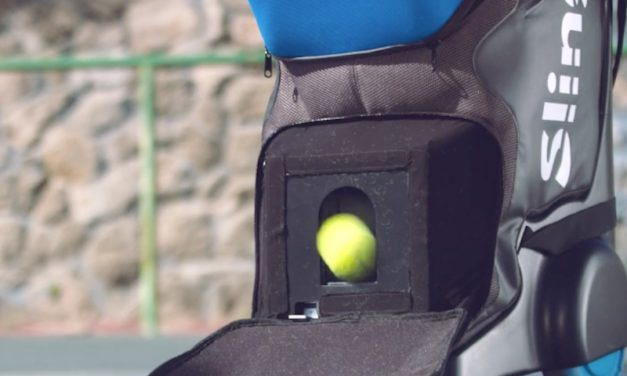 Slinger: The Portable Tennis Ball Launcher