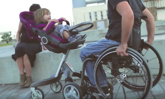 EasyStroll Connector: The Stroller That Works with Your Wheelchair