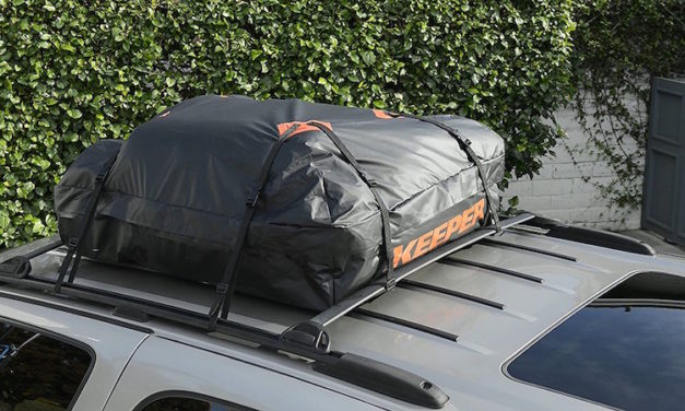 Keeper Waterproof Rooftop Cargo Bag: Keep Your Things Safe and Dry