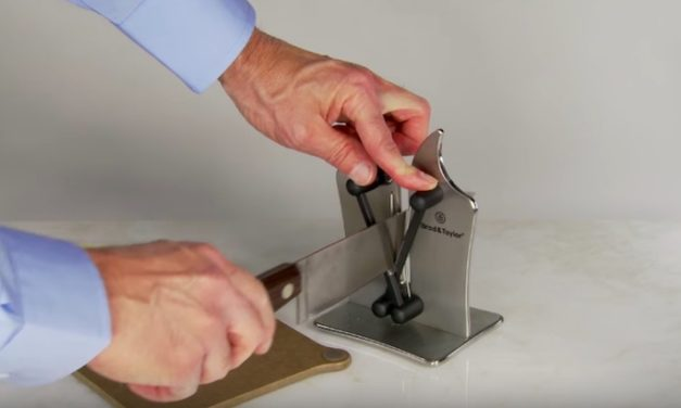Brod & Taylor Classic Knife Sharpener: The Coolest Way to Sharpen Your Knives