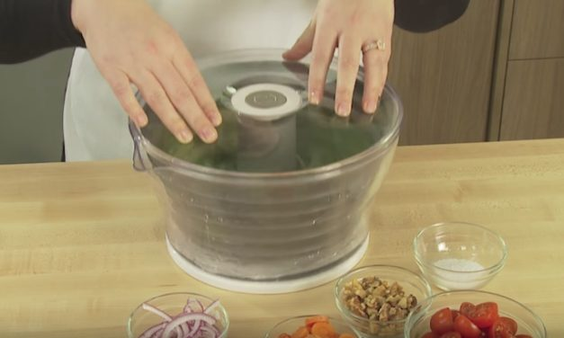PL8 Presse Salad Spinner: The Easy Way to Dry Your Lettuce