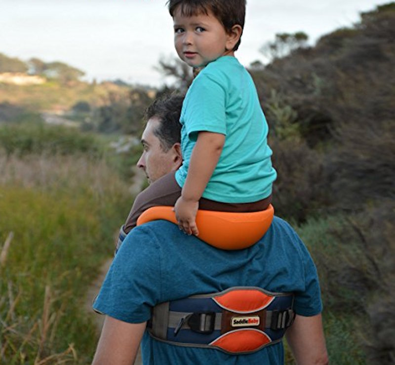 bf5bd865cdf SaddleBaby  Carry Your Child on Your Shoulders Easily
